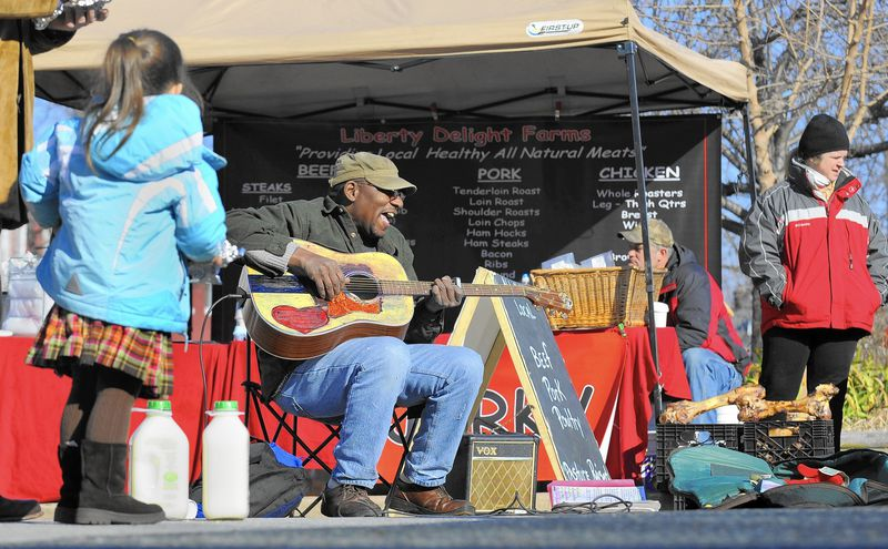 Finding my way at the Waverly farmers market