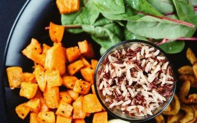 Maple Tarragon Sweet Potatoes